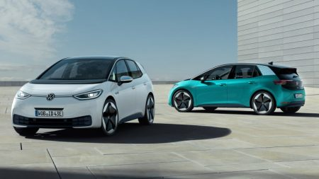European Union — Electric Car registrations overtake diesel for the first time
