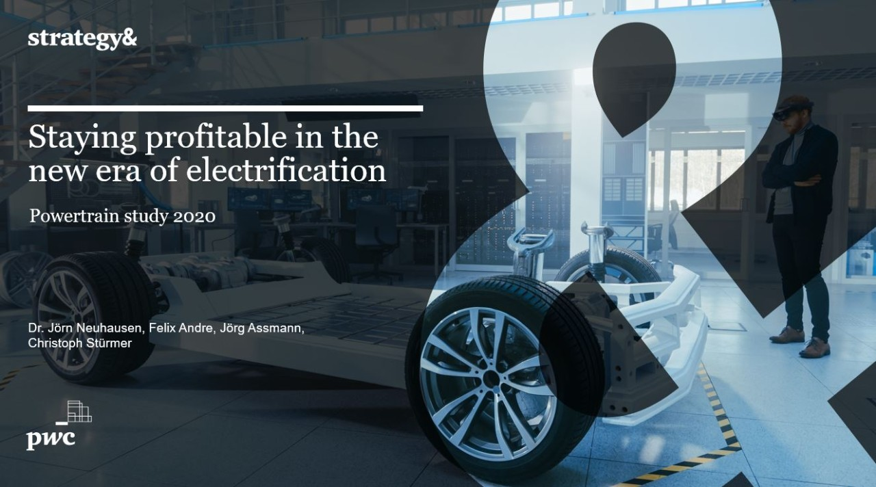 Staying profitable in the new era of electrification