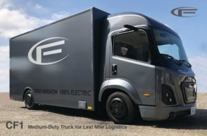 CityFreighter – The new upcoming Electric Truck for Urban Deliveries