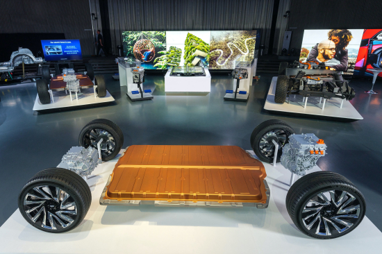 General Motors and Honda to jointly develop two new EV's.