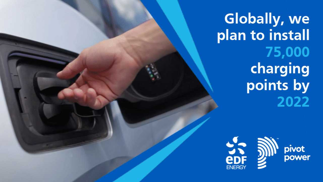 EDF Group plan to install globally 75.000 Charging Points by 2022